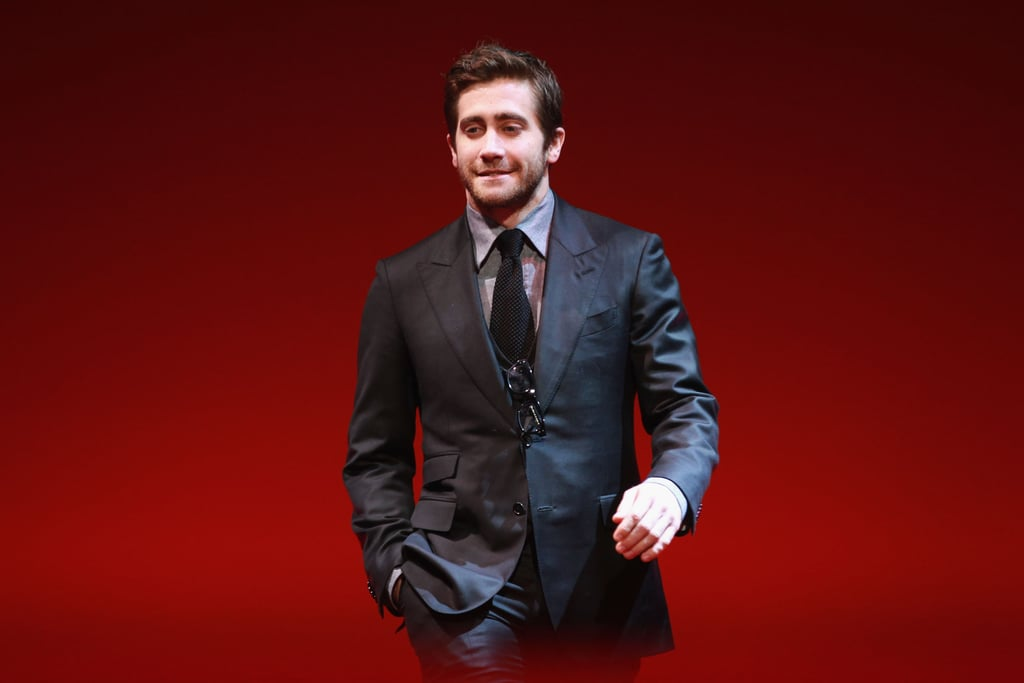 Jake Gyllenhaal joined his fellow 2012 Berlin Film Festival judges like directors Anton Corbijn, Mike Leigh, and Francois Ozon, as well as actress Charlotte Gainsbourg, for their closing ceremony last night. They wrapped up the cinematic fun following a week of screenings, photo ops, and press conferences. Angelina Jolie, with her In the Land of Blood and Honey, and Robert Pattinson, who debuted Bel Ami, were among the stars who trekked to Germany for events —check out all the Berlin Film Festival pictures. Last night, statues were handed out to honor the best work seen at the festival. Jake personally handed off the best actress Silver Bear to Congolese actress Rachel Mwanza for her performance in War Witch. Other honors went to the Danish movie A Royal Affair and Germany's Babara. The best picture distinction went to Italy's Caesar Must Die.