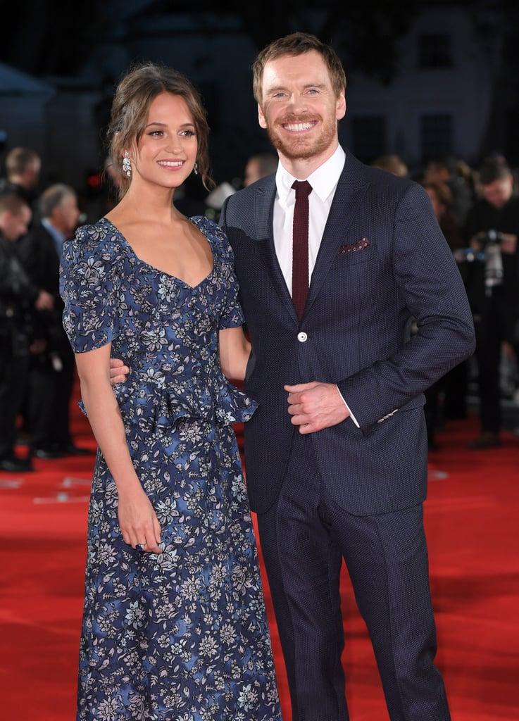 Michael Fassbender and Alicia Vikander move in together ... |Alicia Vikander Michael Fassbender