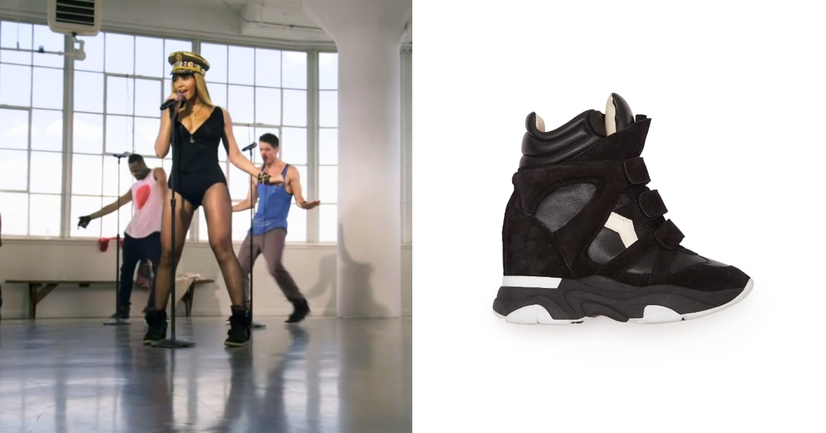The Isabel Marant Wedge Sneakers Beyoncé Made Famous Are Back — and 10 Centimeters High!