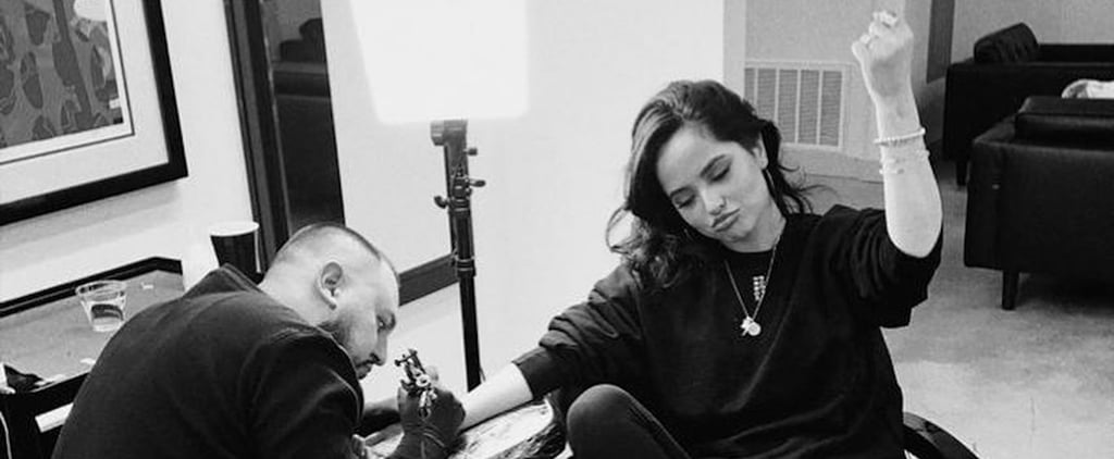 Becky G Shows Off 2 New Tattoos on Instagram