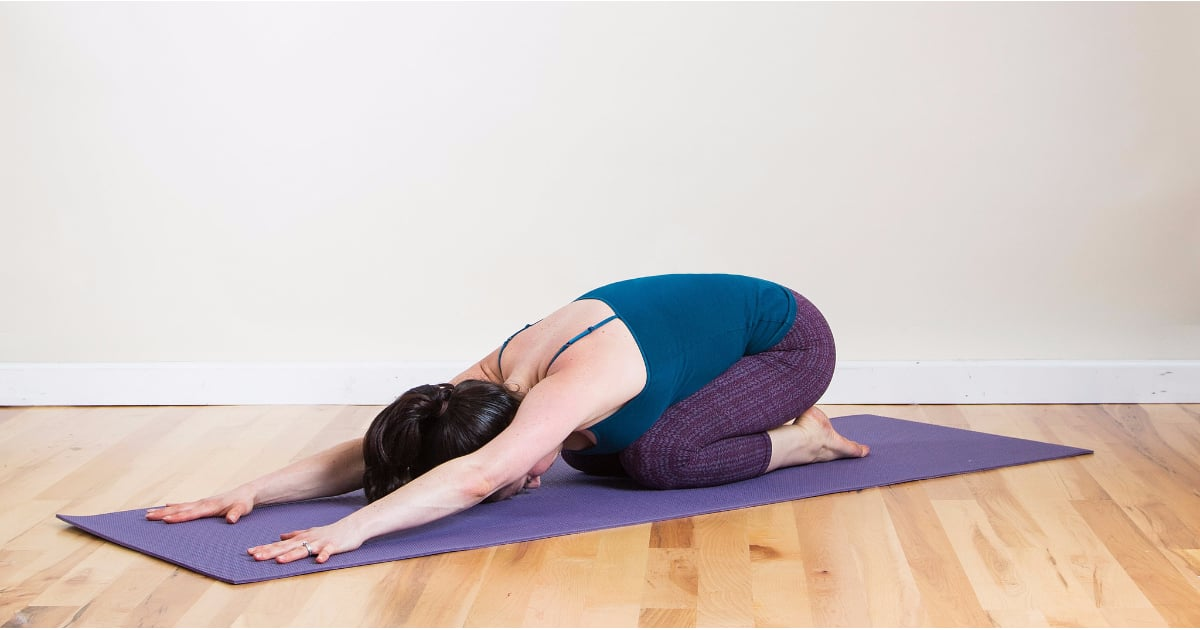 Easy and Relaxing Yoga Poses | POPSUGAR Fitness