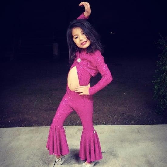 Selena Quintanilla Kids Costume
