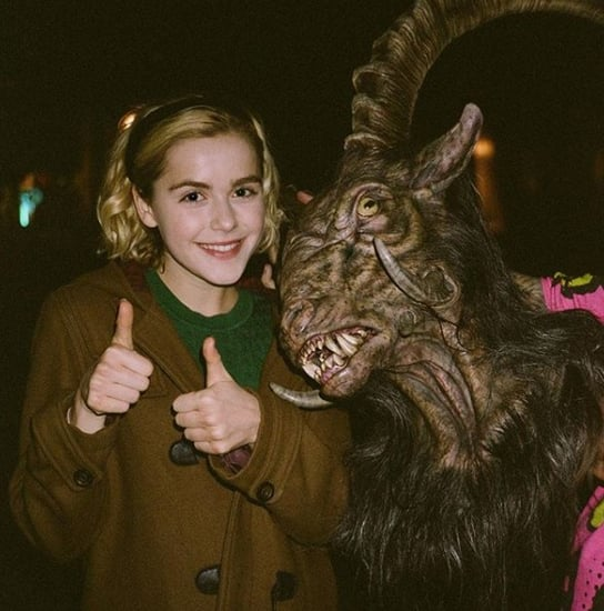 Chilling Adventures of Sabrina Behind the Scenes Photos
