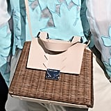 Wicker Basket: Emporio Armani