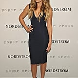 Lauren Conrad celebrated Fashion's Night Out at Nordstrom.