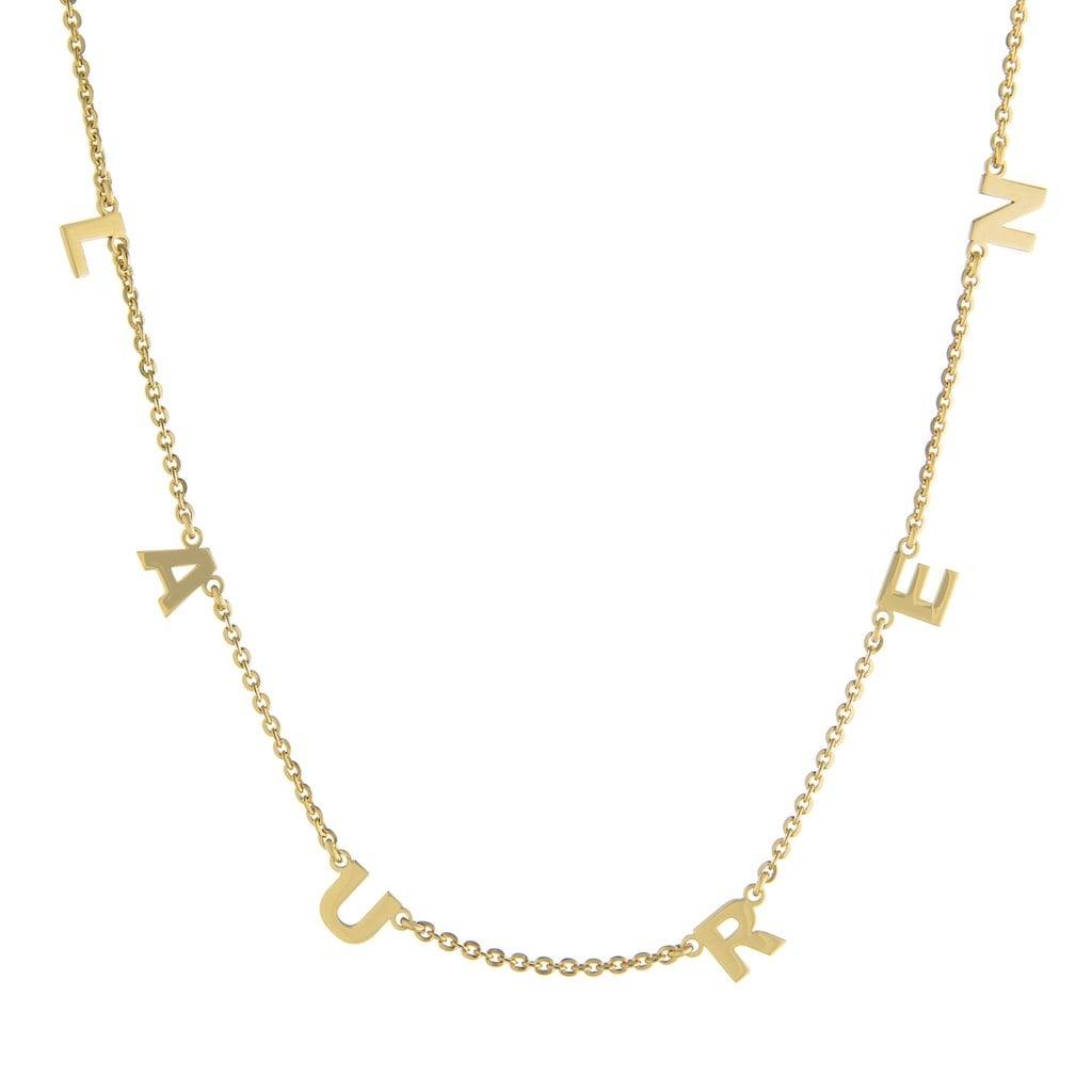 Multi Letter Necklace