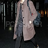 Michelle Williams headed home in NYC.