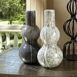 Bonnie: Global Views Two Bubble Light Gray Vase