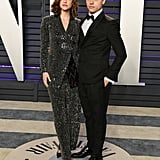 Barbara and Dylan at the Vanity Fair Oscars Party in February 2019