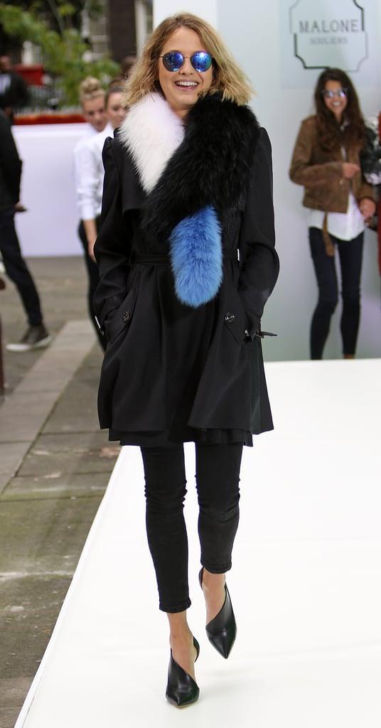 Tess Attends London Fashion Week on the Regular