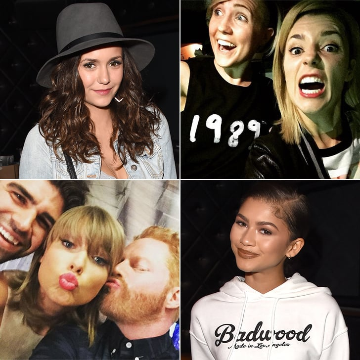 Celebrities at Taylor Swift's Concerts in LA 2015