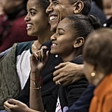 Barack Obama Cute Moments With Sasha and Malia