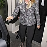 Gwyneth Paltrow dined out at La Petit Maison in London.