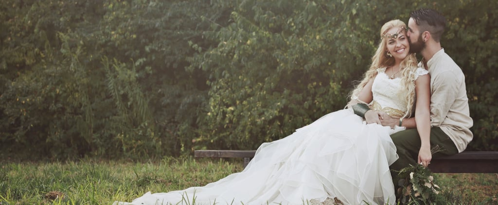 Instead of Tossing the Bouquet, This Bride Shot It Into the Sky With Her Bow and Arrow