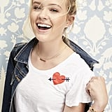 Ava is wearing the Draper James Heart Cloister Tee ($38).