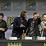 Jensen Ackles and Jared Padalecki at Comic-Con 2018