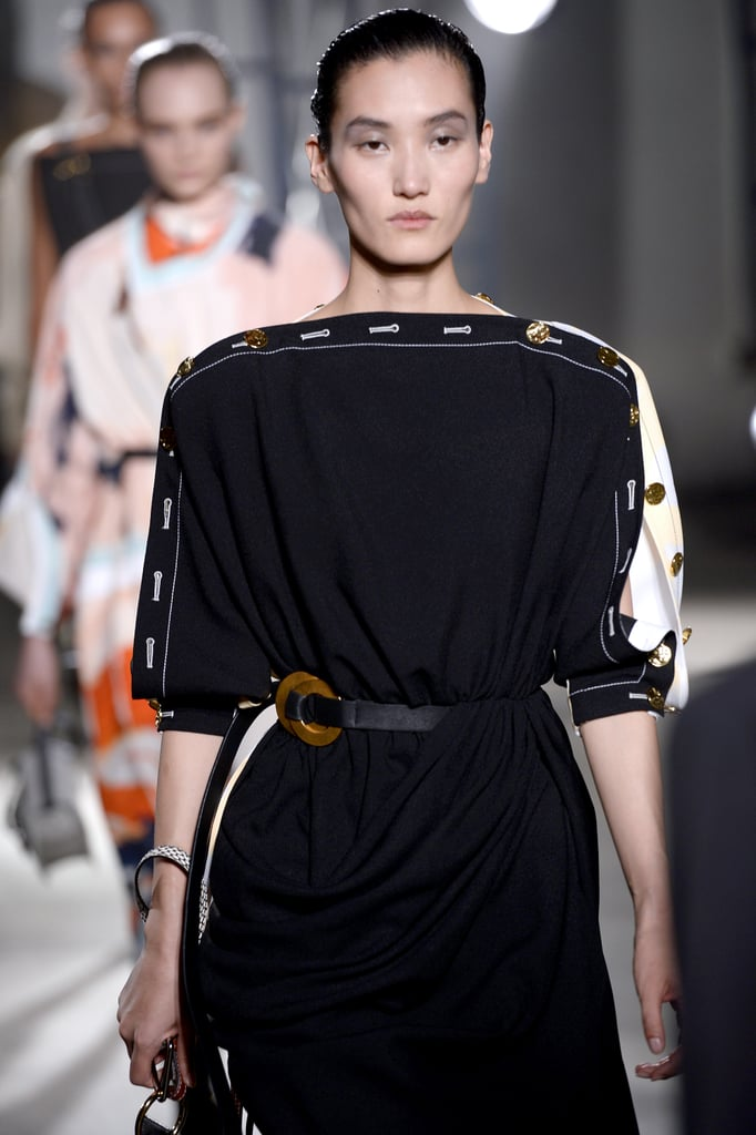 A Belt on the Proenza Schouler Runway at New York Fashion Week