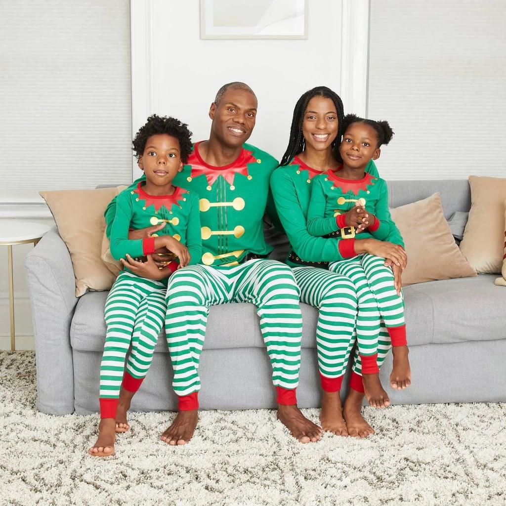 Wondershop Holiday Elf Matching Family Pajama Set