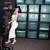 Kylie Jenner White Dress With Travis Scott