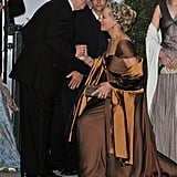 King Constantine II and Princess Michael of Kent