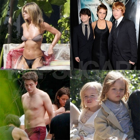 Harry Potter, Knox and Vivienne Jolie-Pitt's Birthday Among 2011 Entertainment Highlights