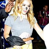 At the Casamigos Halloween Party, Hilary Duff showed up as a mouse. Duh.