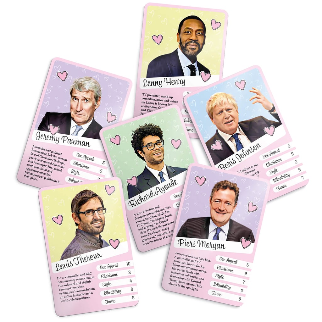Weird British Crushes Card Game