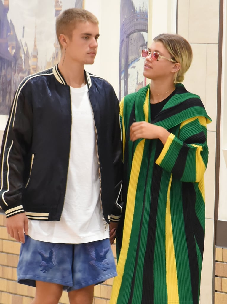 Justin Bieber and Sofia Richie Instagram Pictures