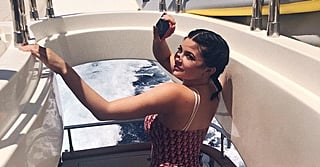 Kylie Jenner's Vintage Dior Swimsuit Says,