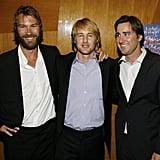 Owen, Luke, and Andrew Wilson