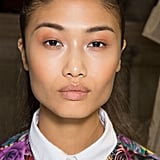 The makeup at Christophe Josse was basic and neutral.