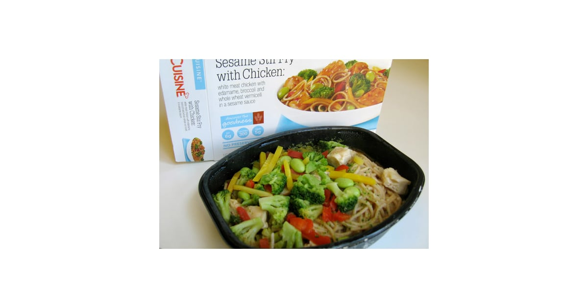 Lean cuisine sesame stir fry with chicken review of lean for Are lean cuisine healthy