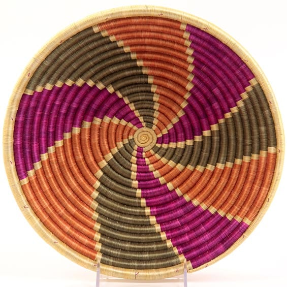This handwoven basket ($46) is just as pretty as it is practical.