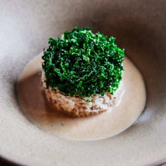 Devon Crab, Basil and Seaweed From Folly by Nick and Scott