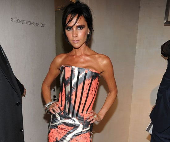 Slide Photo of Victoria Beckham At Fashions Night Out in NYc