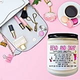 Bend and Snap Scented Candle