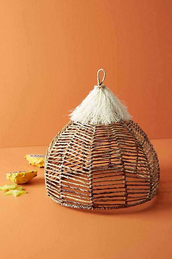Annika Decorative Fringed Food Dome