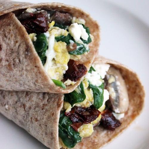 Breakfast Wraps Recipe: Healthy Recipe For Egg Wraps
