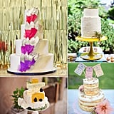 Nothing says subculture like sidestepping wedding traditions and opting for something a little more unique. No matter how hipster your wedding is, there are plenty of ways to display individuality at your nuptials, but these hipster wedding cakes from POPSUGAR Food are definitely the tastiest way to get the point across. Photos by Style Me Pretty