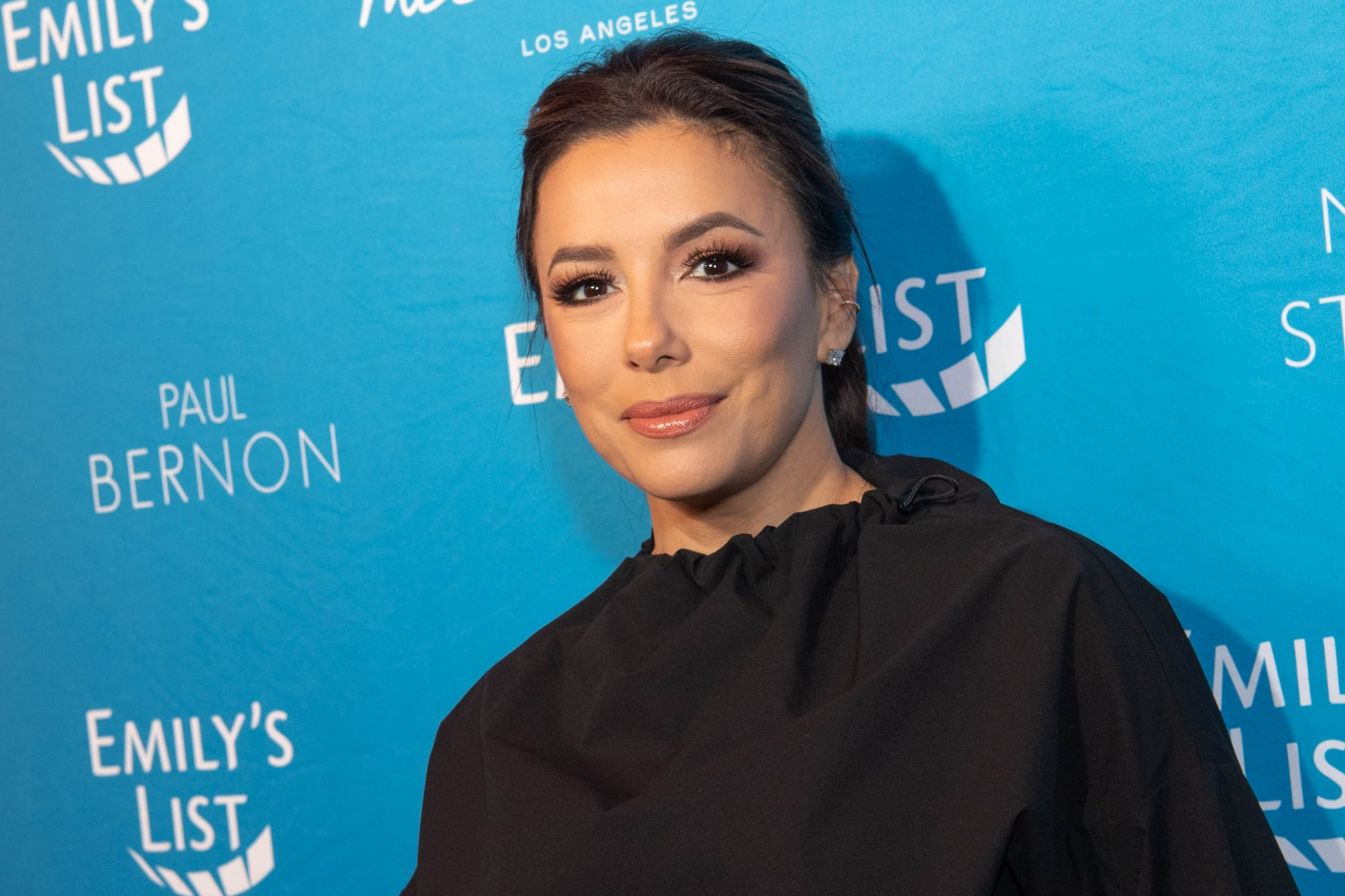 LOS ANGELES, CALIFORNIA - FEBRUARY 04: Eva Longoria arrives at Emily's List 3rd annual pre-oscars event at Four Seasons Hotel Los Angeles at Beverly Hills on February 04, 2020 in Los Angeles, California. (Photo by Emma McIntyre/WireImage)