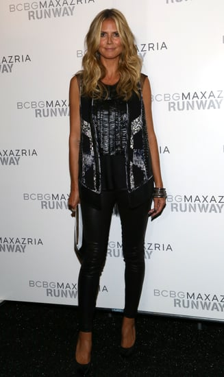 Heidi-Klum-posed-photos-backstage-BCBG-Max-Azria-Thursday