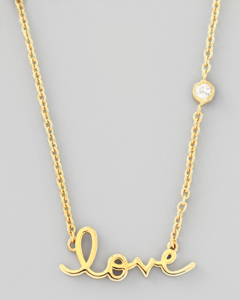 Shy by Sydney Evan Love Necklace