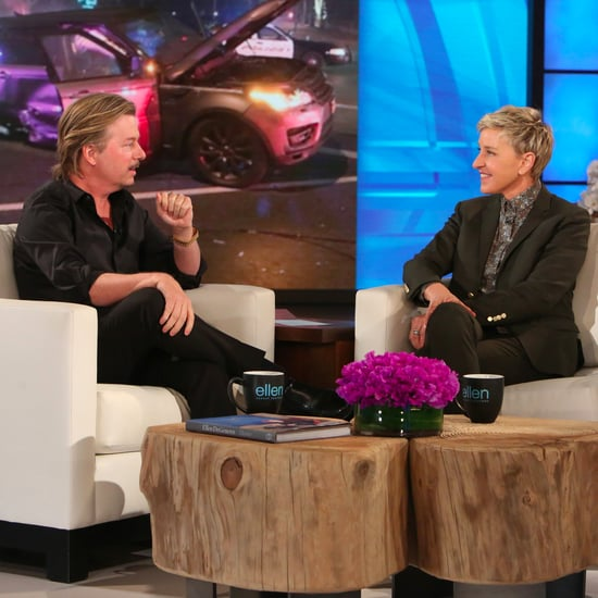 David Spade Talks About Car Accident on Ellen February 2017