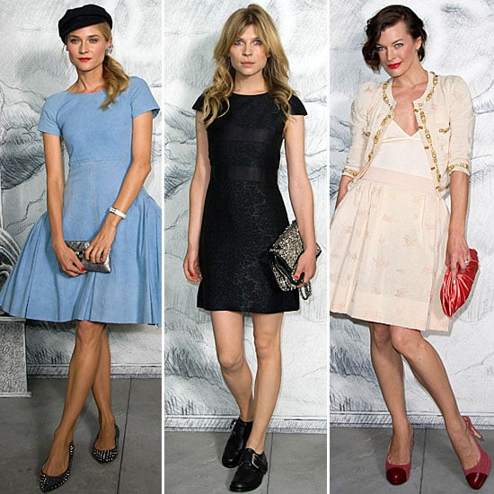 Who Was Best Dressed At Chanel Couture: Sofia Coppola, Diane Kruger, Milla Jovovich or Clemence Poesy?