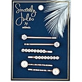 Sincerely Jules by Scunci Crystal and Pearl Bobby Pins