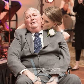Bride Led Father-Daughter Dance With Dying Dad in Wheelchair