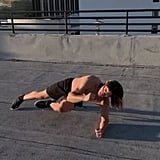 Side Plank With a Contralateral Knee to Elbow Drive