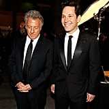 Dustin Hoffman and Paul Rudd