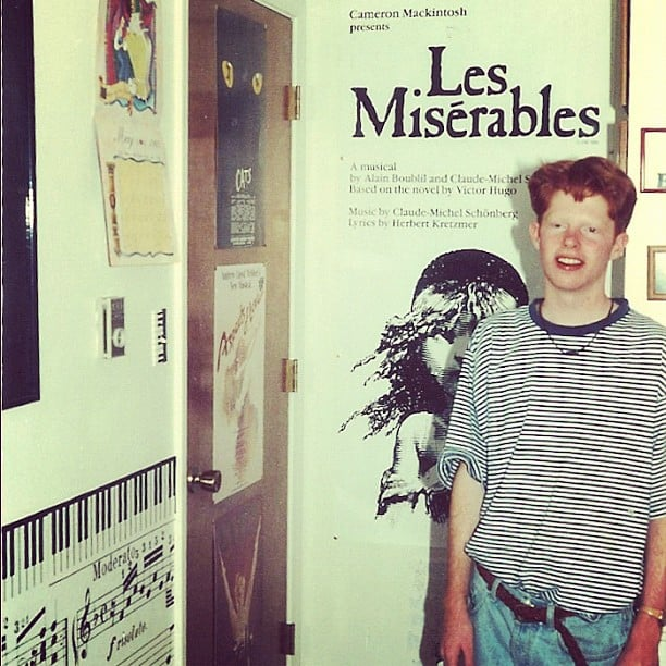 Jesse Tyler Ferguson shared a blast from his past.  Source: Instagram user jessetyler