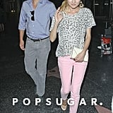 Diane Kruger was all smiles for their dinner date.